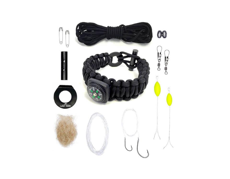 Details about  /The Ultimate Survival Gear Paracord Bracelet